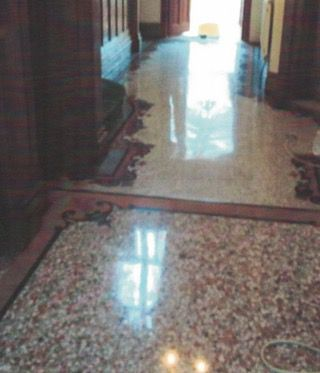Terrazzo Floor Repair, In Situ Stone Tile Replacement Merseyside